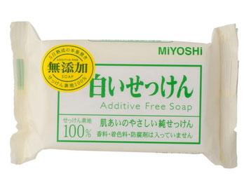 ミヨシの白い石鹸