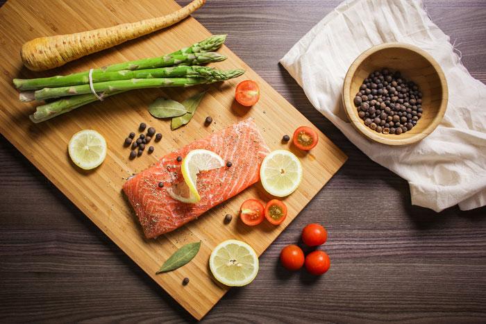 食事 肥性肌